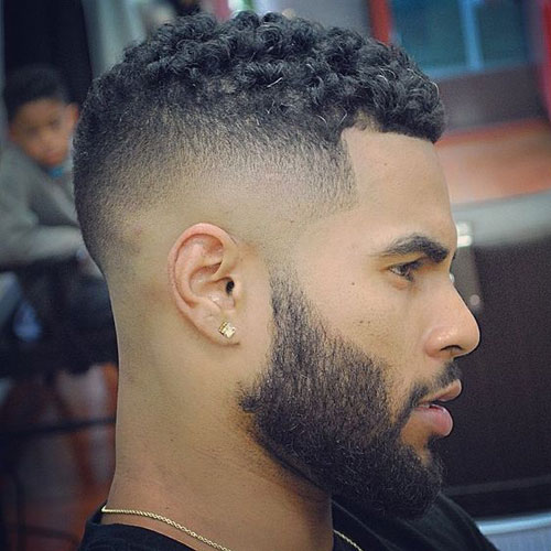 High-Taper-Fade en Richard's Barbers